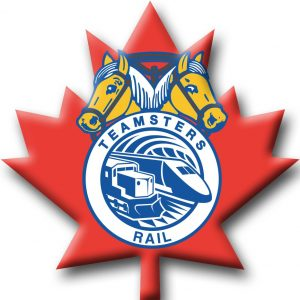 Logo Teamsters rail