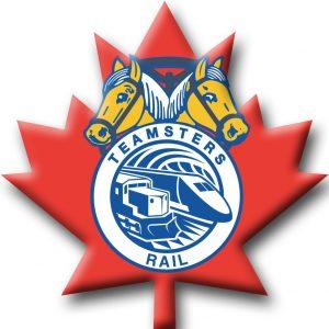 Logo Teamsters rail