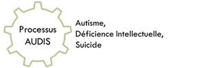 logo Processus AUDIS autisme déficience intellectuelle suicide