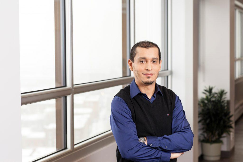 Photo Wassim Bouachir PhD membre chercheur CRISE