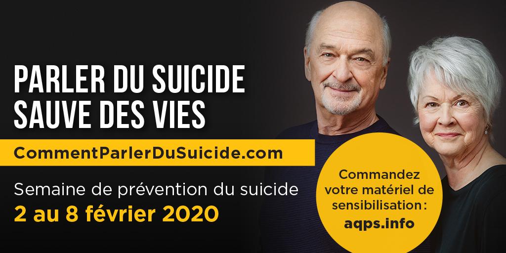 Semaine de prévention du suicide 2020