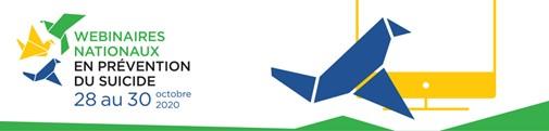 logo webinaires nationaux en prévention du suicide