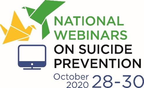 logo national webinars on suicide prevention
