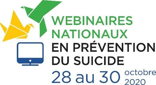logo webinaires nationaux prévention suicide